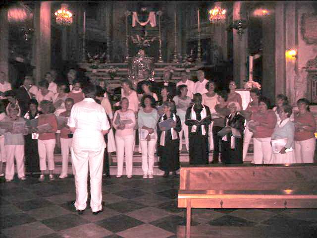 Nikaïachor en concert avec Les Chorales Contre-Temps et Corse