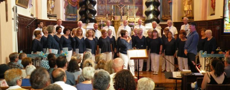 Concert à Beuil - juillet 2018
